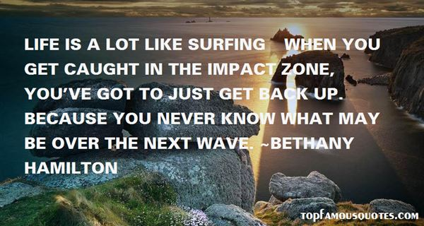 Quotes About Wave