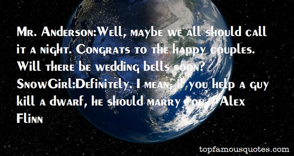 Quotes About Wedding Bells