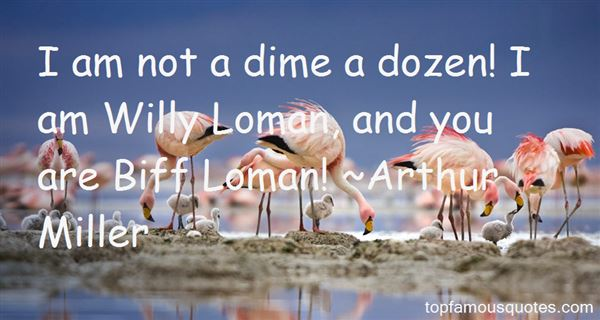 Quotes About Willy Loman