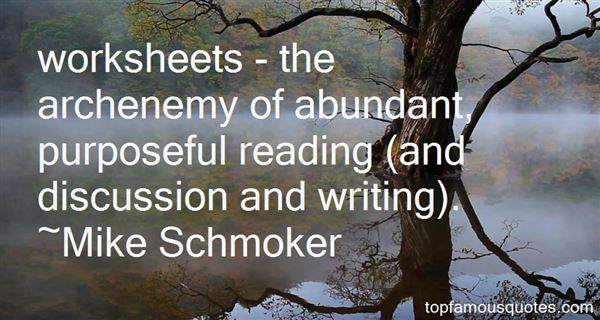 Quotes About Worksheets