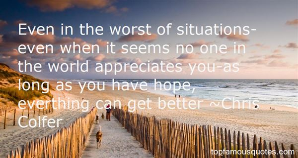Quotes About Worst Situation