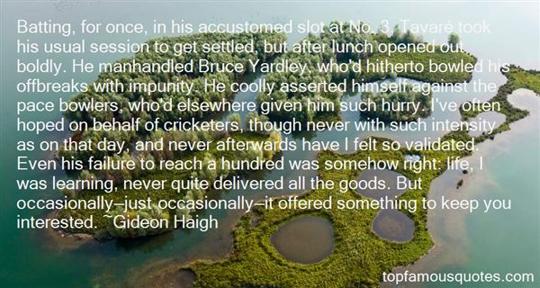 Quotes About Yardley