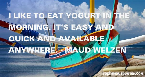 Quotes About Yogurt