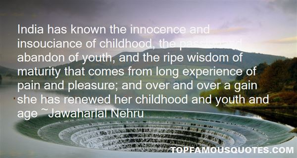 Quotes About Youth And Wisdom