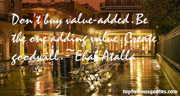 Quotes About Adding Value