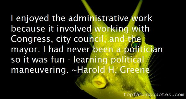 Quotes About Administrative