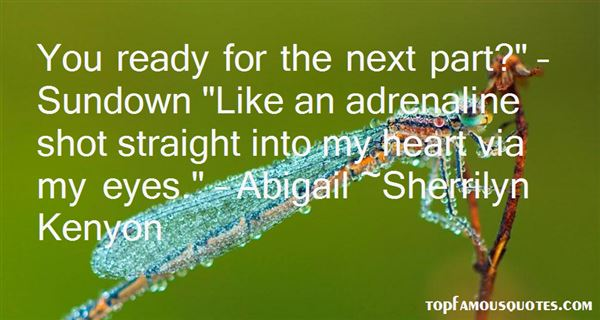 Quotes About Adrenalin