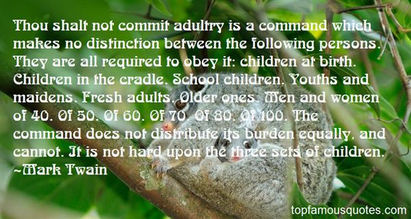 Quotes About Adultry