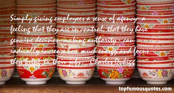 Quotes About Agency