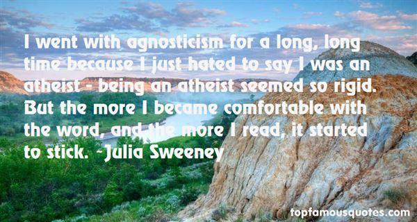 Quotes About Agnosticism