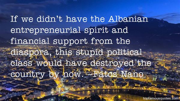 Quotes About Albania
