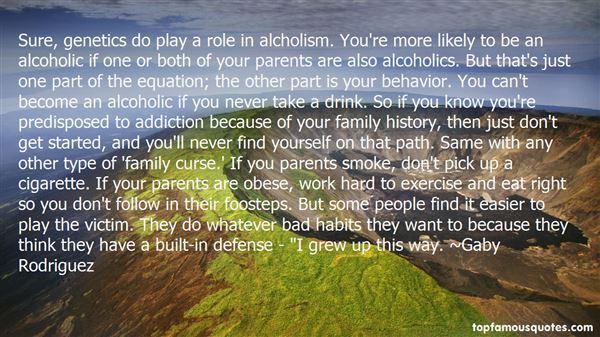 Quotes About Alcoholics Parents