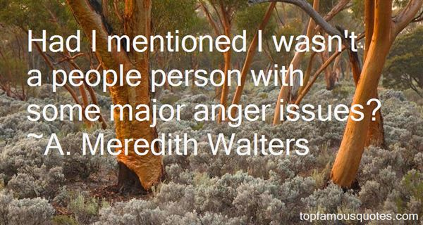 Quotes About Anger Issues