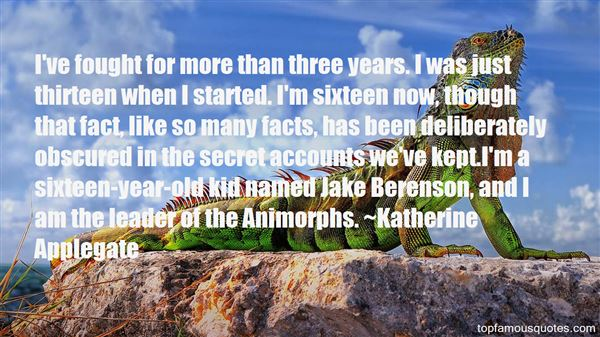Quotes About Animorphs