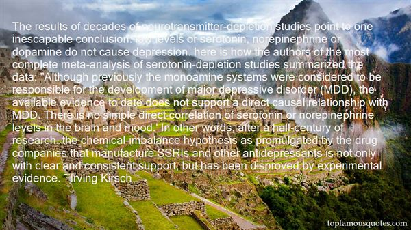 Quotes About Antidepressants