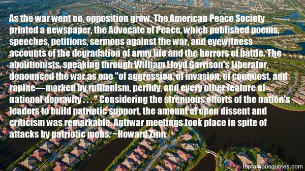 Quotes About Antiwar