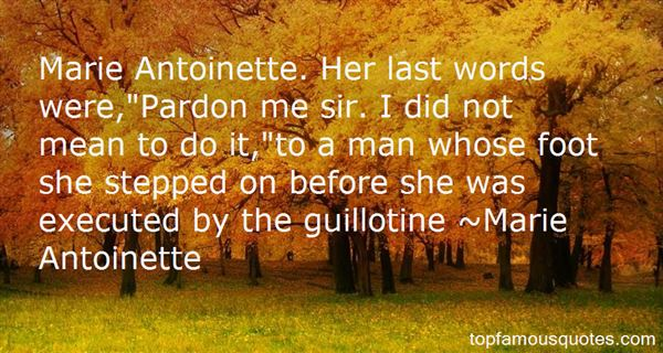 Quotes About Antoinette