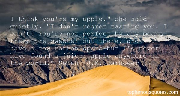 Quotes About Apple Juice
