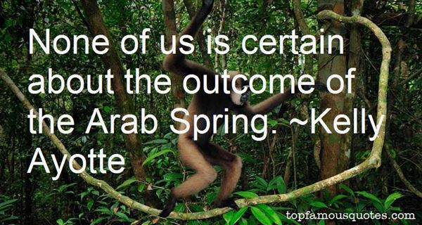 Quotes About Arab Spring