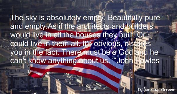 Quotes About Architects Houses