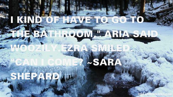 Quotes About Aria Ezra