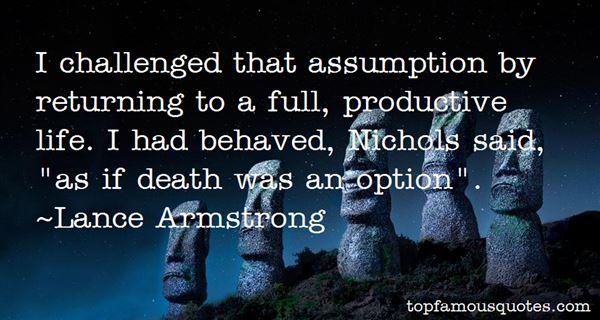 Quotes About Assumption