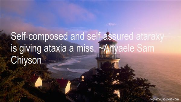 Quotes About Ataraxy