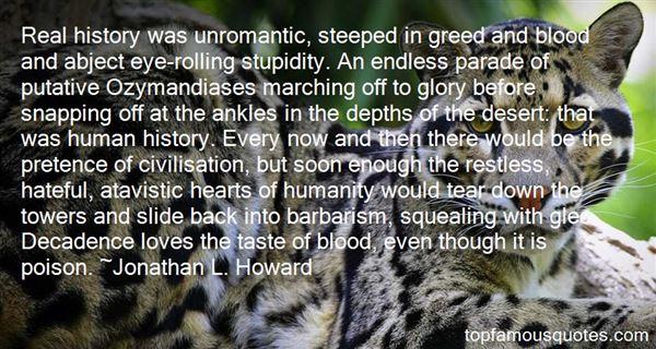 Quotes About Atavistic