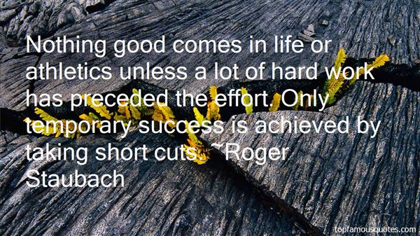 Quotes About Athletic Success