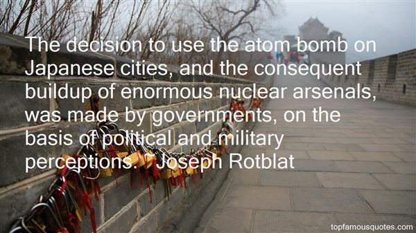 Quotes About Atom Bomb