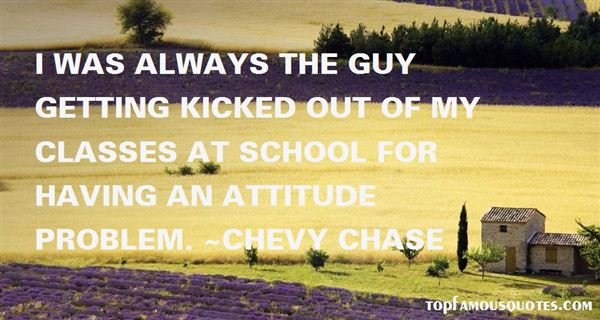 Quotes About Attitude Problem