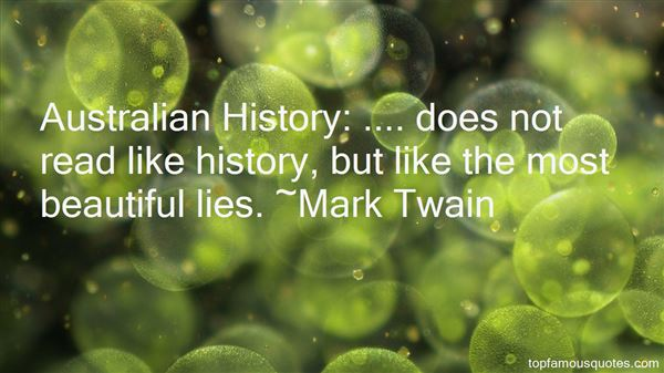Quotes About Australian History