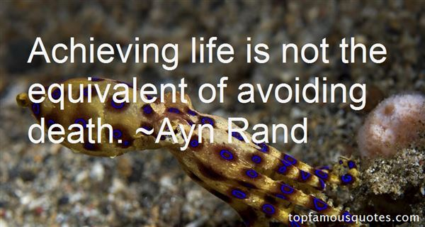 Quotes About Avoiding Death