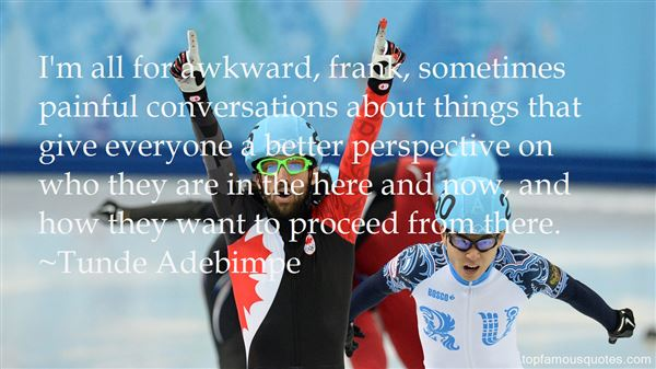 Quotes About Awkward Conversations
