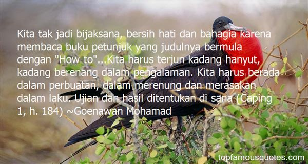 Quotes About Bahagia