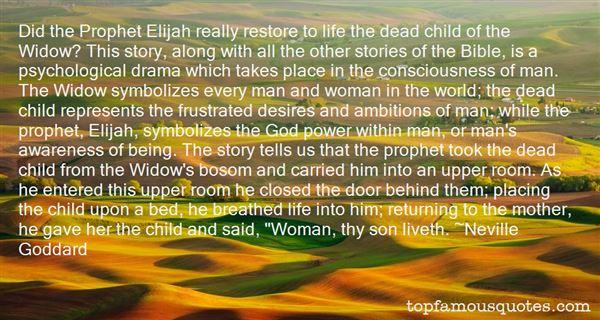 Quotes About Bible Elijah