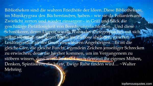 Quotes About Bibliothek