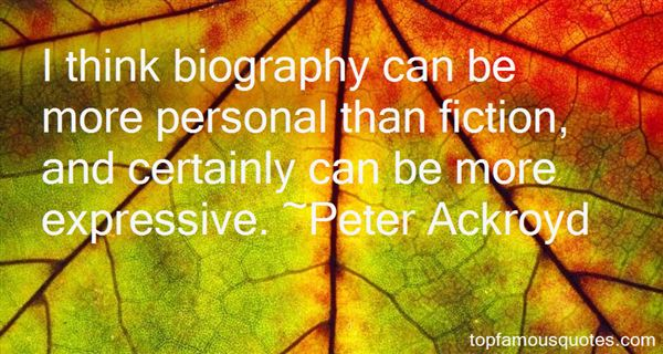 Quotes About Biography