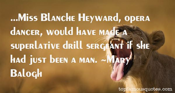 Quotes About Blanche