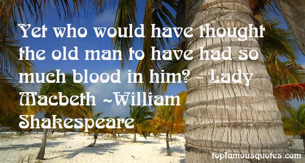 Quotes About Blood In Macbeth