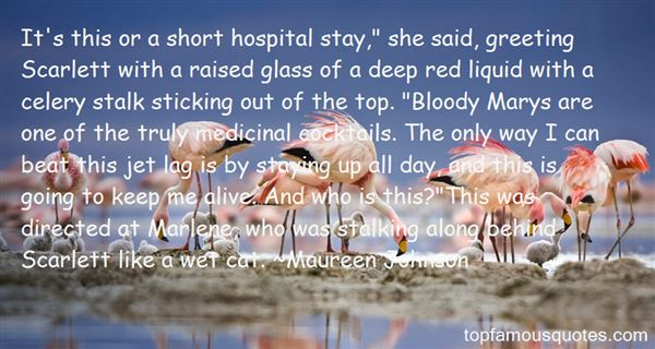 Quotes About Bloody Mary Cocktail