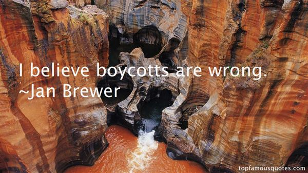 Quotes About Boycott