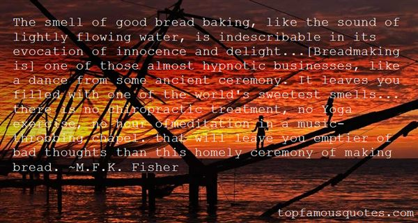 Quotes About Breadmaking