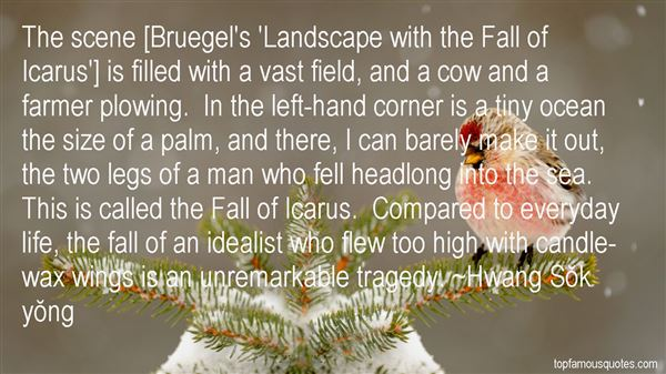 Quotes About Bruegel