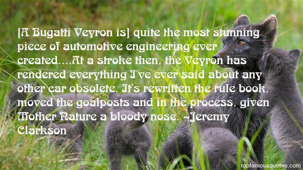 Quotes About Bugatti Veyron