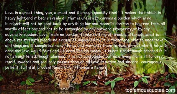 Quotes About Burden Love