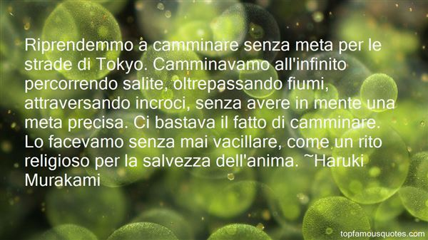 Quotes About Camminare