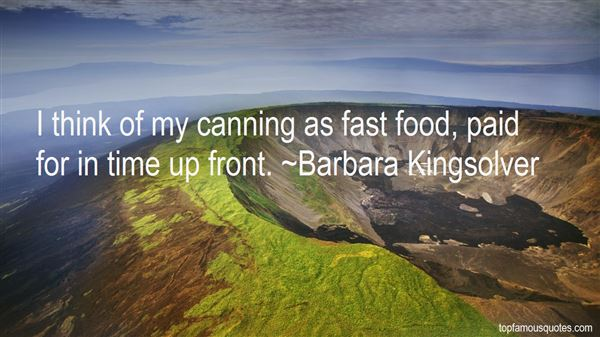 Quotes About Canning Food