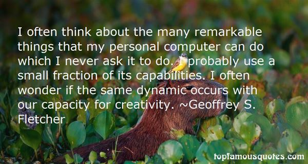 Quotes About Capabilities