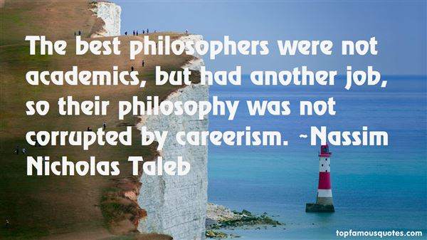 Quotes About Careerism